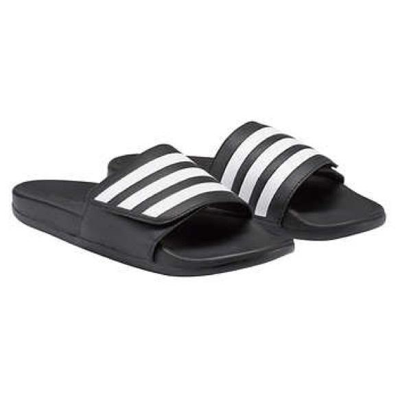 de7b11313 adidas Shoes | Nib Unisex Adilette Comfort Adj Slides | Poshmark